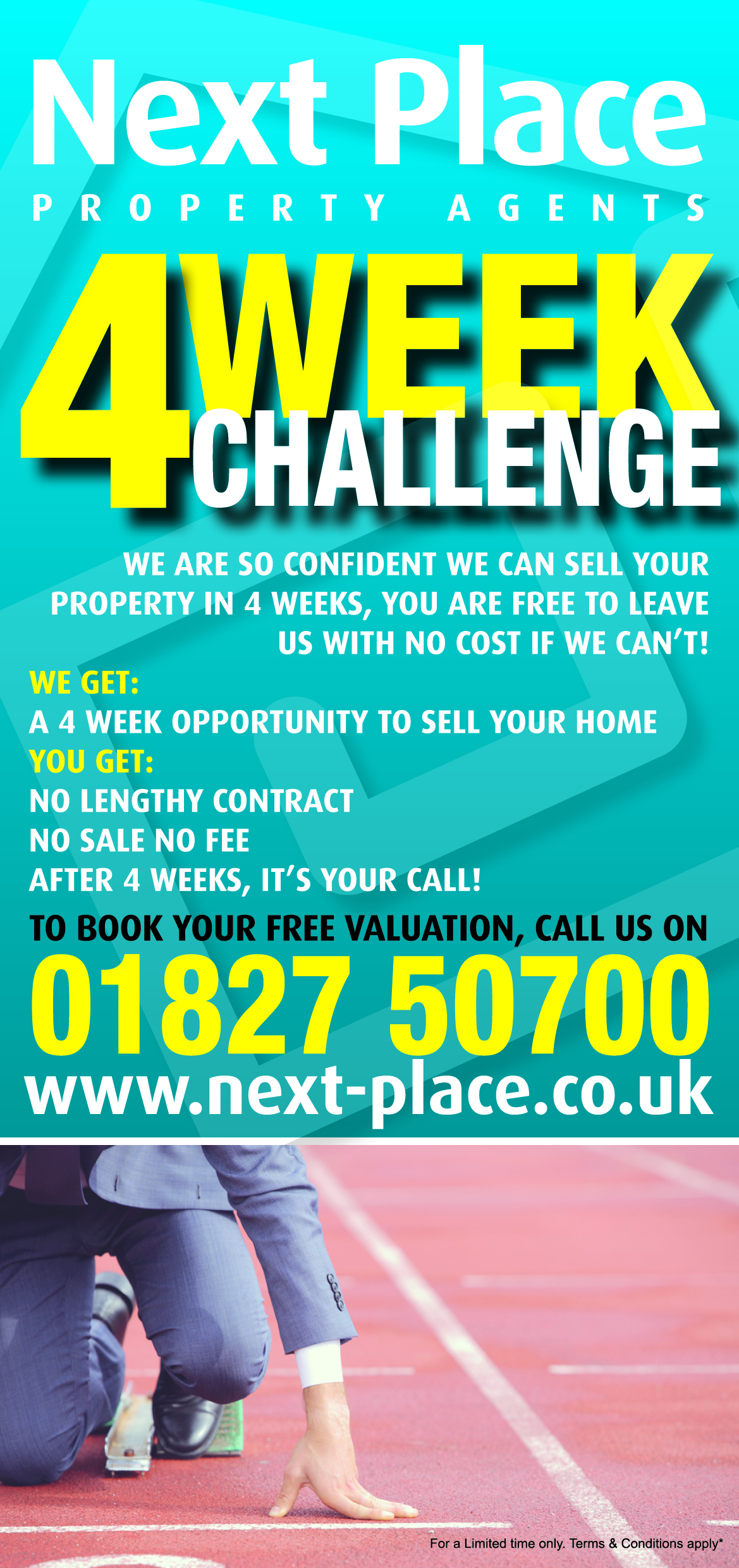 We will sell your property in 4 weeks