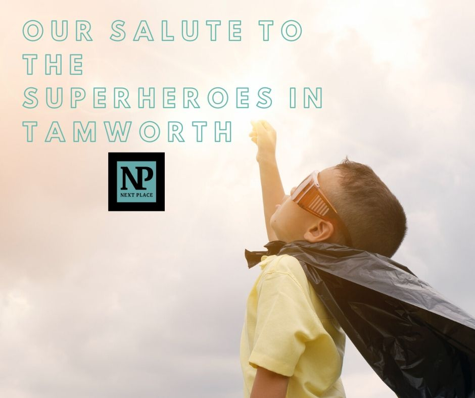 Our salute to the superheroes in Tamworth